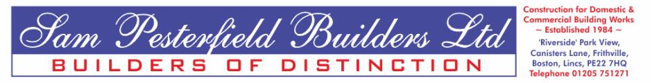 Sam Pesterfield Builders Ltd